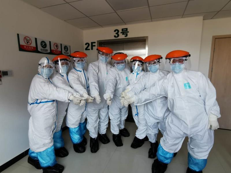 【荆州医疗队动态】南方医院首发8人进入洪湖市人民医院感染科病区