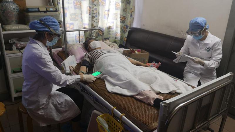 省医肾内科腹膜透析中心延续护理,助爱传递