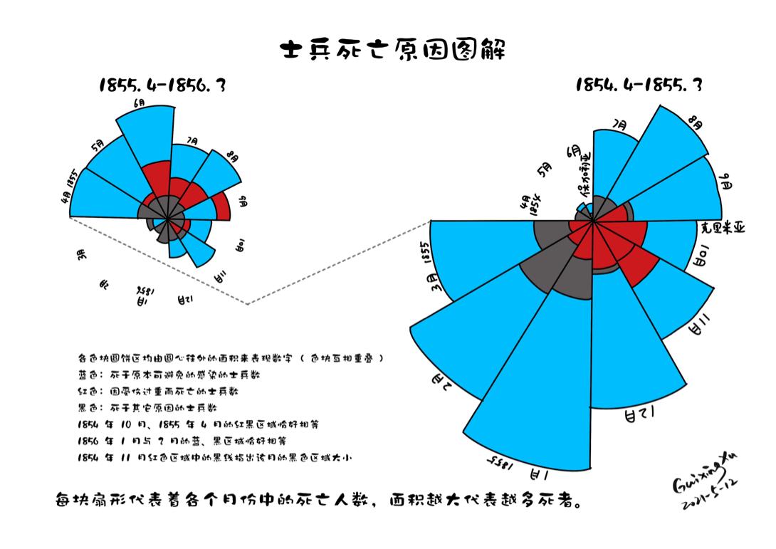 """【5.12国际护士节】""""南丁格尔玫瑰图""""的启示"""