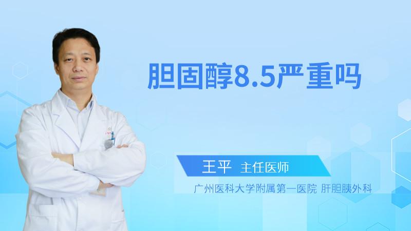 胆固醇8.5严重吗