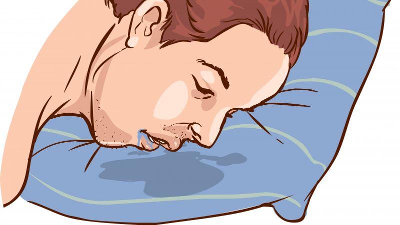 睡觉时流口水是不是一种病?当流口水时出现3种情况,要及时就医