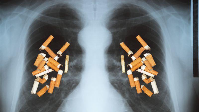 吸烟对肺的危害