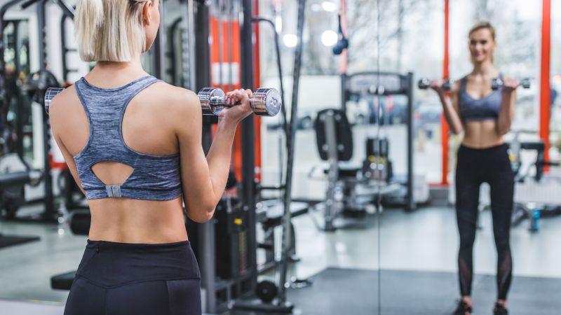 手臂锻炼动作