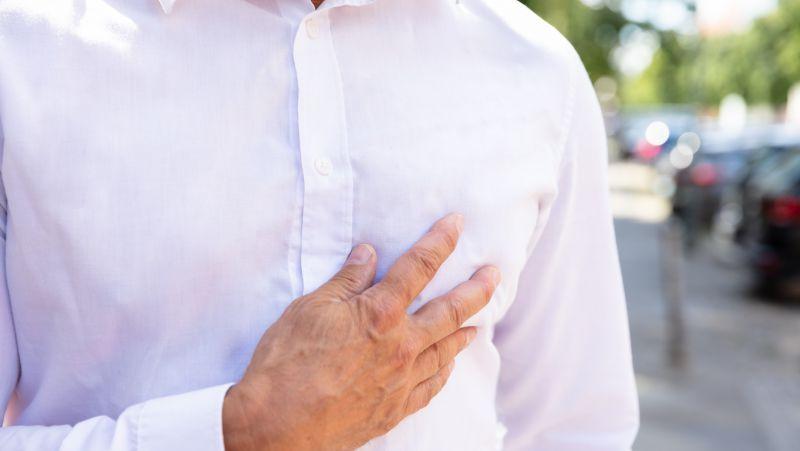 男性心口疼是什么原因